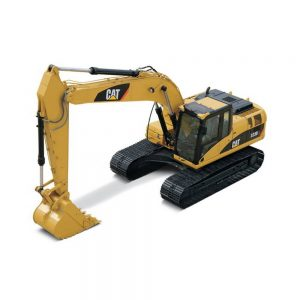 EXCAVADORA CAT 323D L ESCALA 1:50