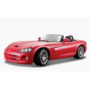 ESCALA 1:18 - DODGE VIPER SRT-10 2003 - ROJO