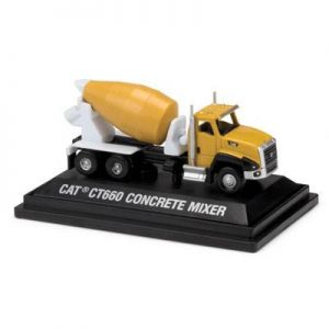 ESCALA 1:72 - CAT CONCRETE MIXER TRUCK