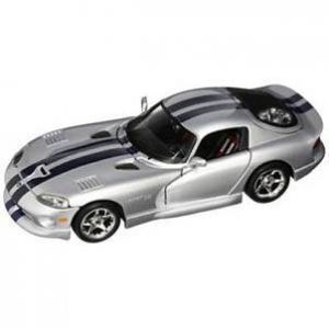 ESCALA 1:18 - DODGE VIPER GTS COUPE - PLATA