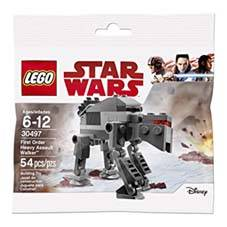 LEGO 30497 STAR WARS - FIRST ORDER HEAVY ASSAULT WALKER - 54 PCS
