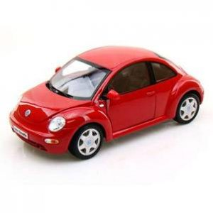 ESCALA 1:18 - VOLKSWAGEN NEW BEETLE - ROJO