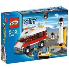 LEGO CITY TRANSPORTATION - SATELLITE LAUNCH PAD
