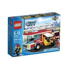 LEGO CITY EMERGENCY RESCUE - CAMION DE BOMBEROS