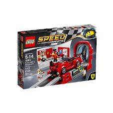 LEGO 75882 SPEED CHAMPIONS - FERRARI FXX K & DELOPMENT CENTER - 493 PCS.