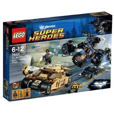 LEGO SUPER HEROES - THE BAT V/S BANE : TUMBLER CHASE