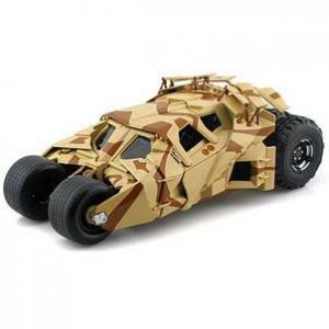 ESCALA 1:18 - BATMOBILE CAMUFLAJE - THE DARK KNIGHT RISES