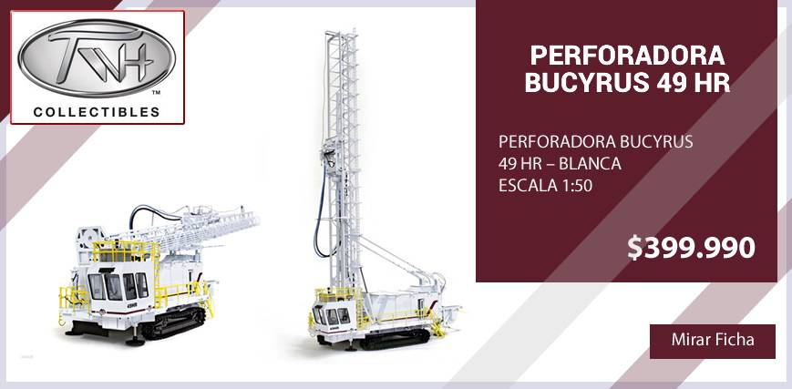 Perforadora Bucyrus 19 HR