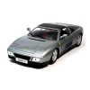 18-16006GREY AUTO FERRARI 348TS RACE &PLACE ESCALA 1:18 DIECAST MINIATURA CASANOVA SCALE MACHINES