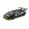 18-28001BLACK LAMBORGHINI MURCIELAGO FIA GT RACE ESCALA 1:24 BBURAGO DIECAST MINIATURA CASANOVA SCALE MACHINES