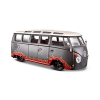 31022GREY VOLKSWAGEN SAMBA VAN (OUTLAWS) ESCALA 1:24 DIECAST MINIATURA CASANOVA SCALE MACHINES