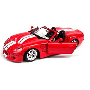 31142RED SHELBY SERIES 1 '99 ESCALA 1:18 MAISTO DIECAST MINIATURA CASANOVA SCALE MACHINES