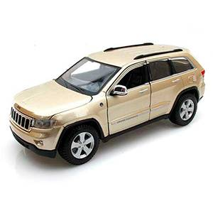 31205GOLD JEEP GRAND CHEROKEE '2011 MAISTO ESCALA 1:24 DIECAST MINIATURA CASANOVA SCALE MACHINES