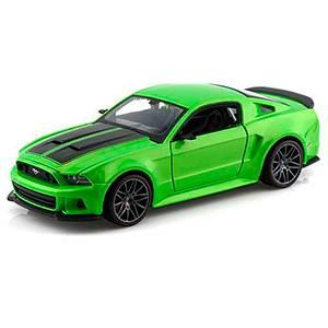 31506/GREEN AUTO FORD MUSTANG STREET RACER '2014 ESCALA 1:24 MAISTO DIECAST MINIATURA CASANOVA SCALE MACHINES