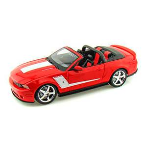 31669RED MUSTANG '2010 ROUSH ED ESCALA 1:18 MAISTO DIECAST MINIATURA CASANOVA SCALE MACHINES