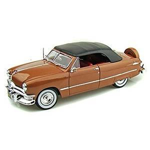 31681BRONZE AUTO FORD '50 ESCALA 1:18 MAISTO DIECAST MINIATURA CASANOVA SCALE MACHINES