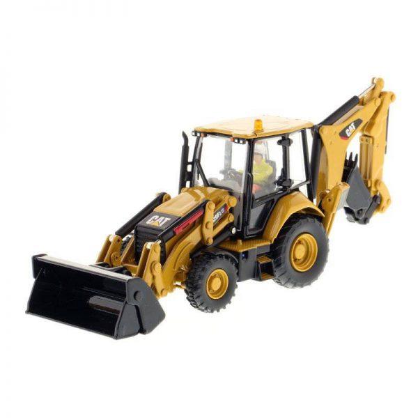 85233 ESCALA 1:50 – RETROEXCAVADORA CAT 420F2 IT DIECAST MASTERS CASANOVA SCALE MACHINES