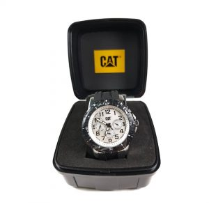 RELOJ CAT - BLACK DIAL / BLACK RUBBER STRAP