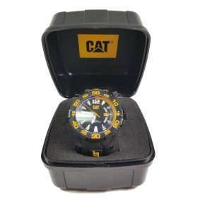 RELOJ CAT - BLACK & YELLOW DIAL / BLACK & YELLOW STRAP